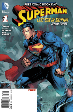 Free Comic Book Day - Superman