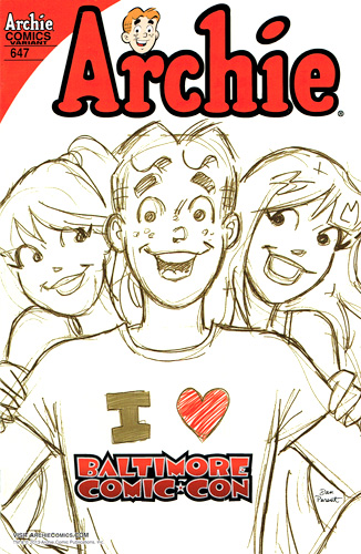 NM/MT - Archie #647 variant by Dan Parent only available from the Baltimore Comic-Con