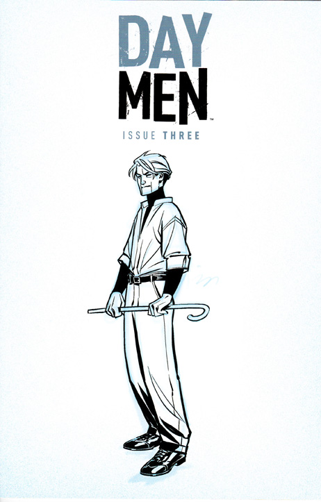 Day Men #3 Exclusive
