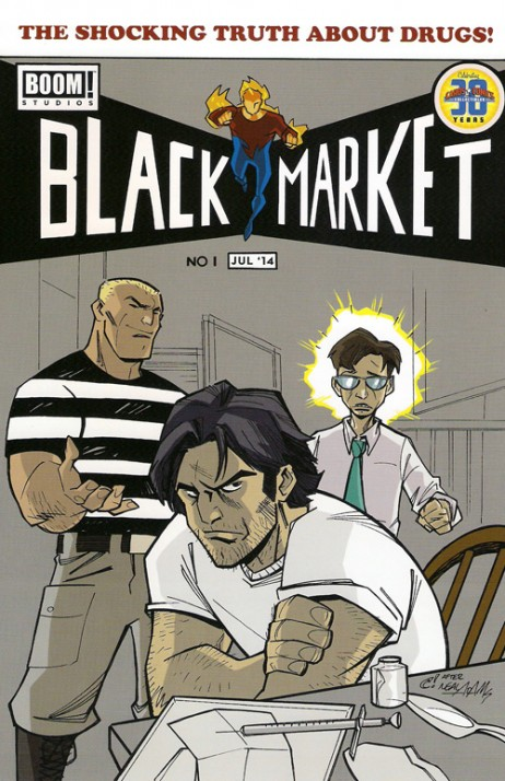 Black Market #1 Exclusive
