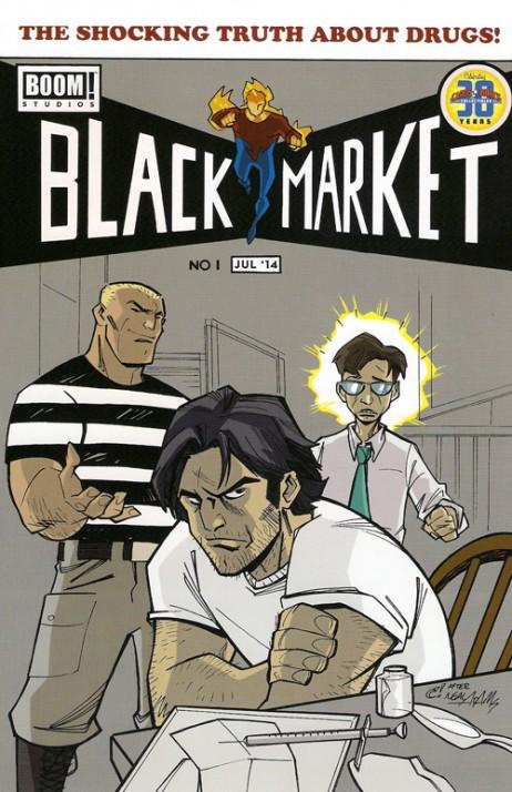 Black Market #1 Exclusive