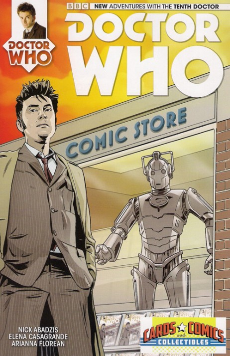 Dr. Who 10th Doctor #1 Exclusive
