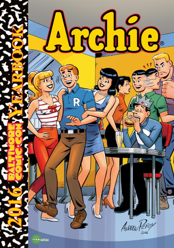 Baltimore Comic Con Yearbook 2016 Archie