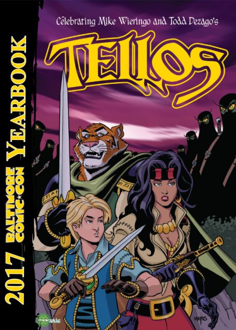 Baltimore Comic-Con Yearbook 2017: Tellos