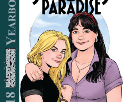 Baltimore Comic-Con Yearbook 2018: Strangers in Paradise - regular cover