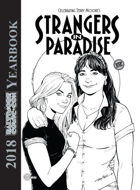 Baltimore Comic-Con Yearbook 2018: Strangers in Paradise - VIP Cover