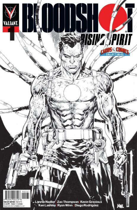 Bloodshot Rising Spirit #1 Exclusive