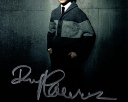 David Mazouz SIGNED photo: Bruce Wayne (leaning on a wall)