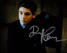 David Mazouz SIGNED photo: Bruce Wayne (sitting)