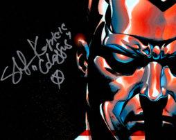 Stefan Kapicic SIGNED photo: Colossus comic art