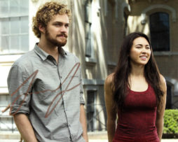 Finn Jones SIGNED photo: Iron Fist with Jessica Henwick
