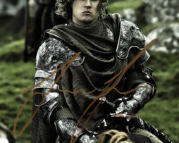 Finn Jones SIGNED photo: Game of Thrones Loras Tyrell (riding a horse)