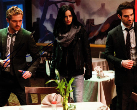 Finn Jones SIGNED photo: Iron Fist with Daredevil and Jessica Jones