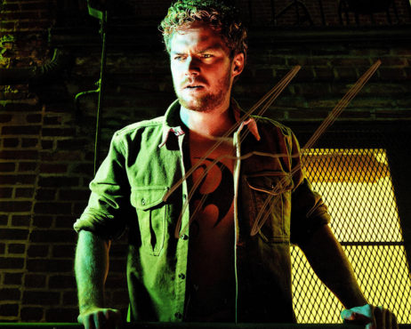 Finn Jones SIGNED photo: Iron Fist Danny in the city