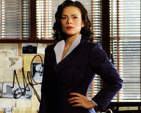 Hayley Atwell SIGNED photo: Hands on Hips