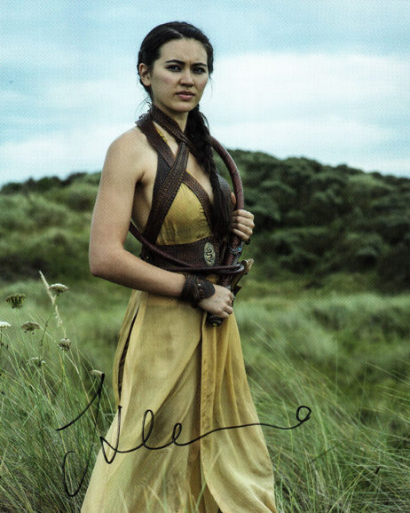 Jessica Henwick SIGNED photo: Game of Thrones (in field)