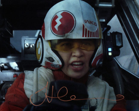 Jessica Henwick SIGNED photo: Star Wars Rebel fighter