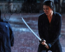 Jessica Henwick SIGNED photo: Iron Fist Colleen Wing sword in the rain