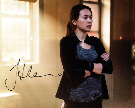 Jessica Henwick SIGNED photo: Iron Fist Colleen Wing (pose)
