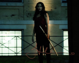 Jessica Henwick SIGNED photo: Iron Fist Colleen Wing (with a sword)