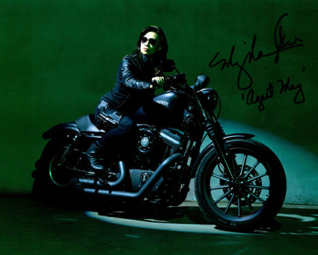 Ming-Na Wen SIGNED photo: Agents of SHIELD on a Motorcycle