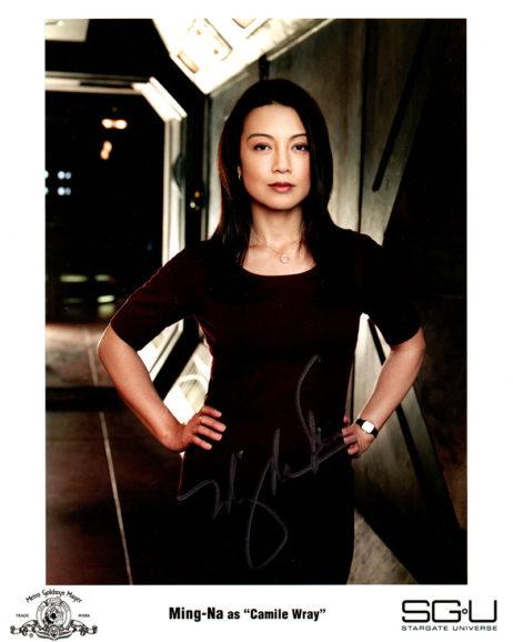 Ming-Na Wen SIGNED photo: Stargate Universe