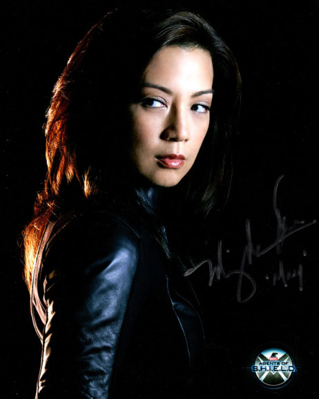 Ming-Na Wen SIGNED photo: Agents of SHIELD dark background