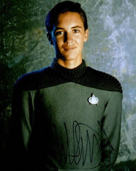 Wil Wheaton SIGNED photo: Star Trek Next Generation Starfleet casual