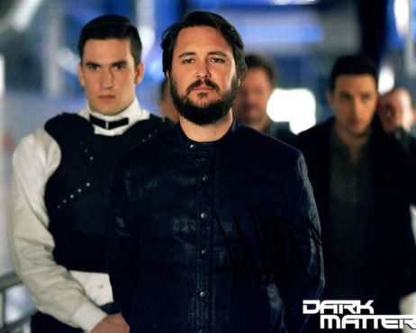 Wil Wheaton SIGNED photo: Dark Matter (looking forward)