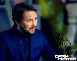 Wil Wheaton SIGNED photo: Dark Matter looking right