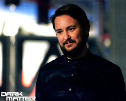 Wil Wheaton SIGNED photo: Dark Matter (looking left)