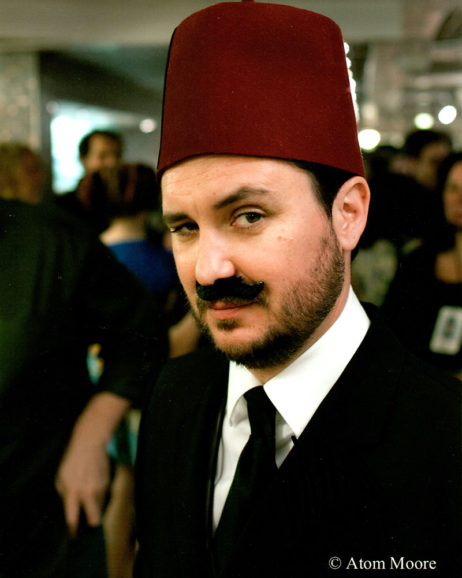 Wil Wheaton SIGNED photo: Wearing a fez