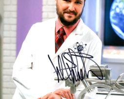 Wil Wheaton SIGNED photo: Big Bang Theory labcoat