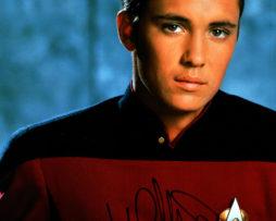 Wil Wheaton SIGNED photo: Star Trek Next Generation Starfleet